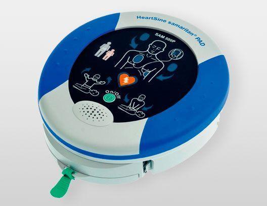 Desfribilador semiautomático Heart-Samaritan Pad 500P