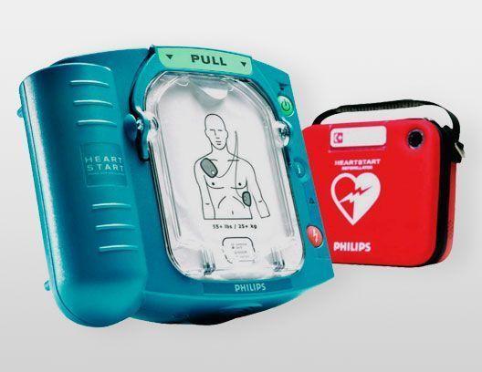 Desfribilador semiautomático Philips HS1
