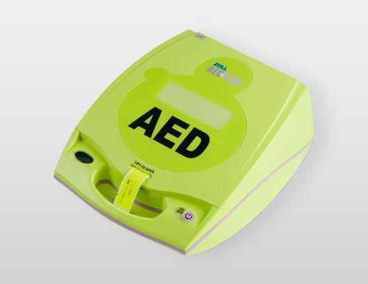 Desfribilador semiautomático Zoll AED Plus